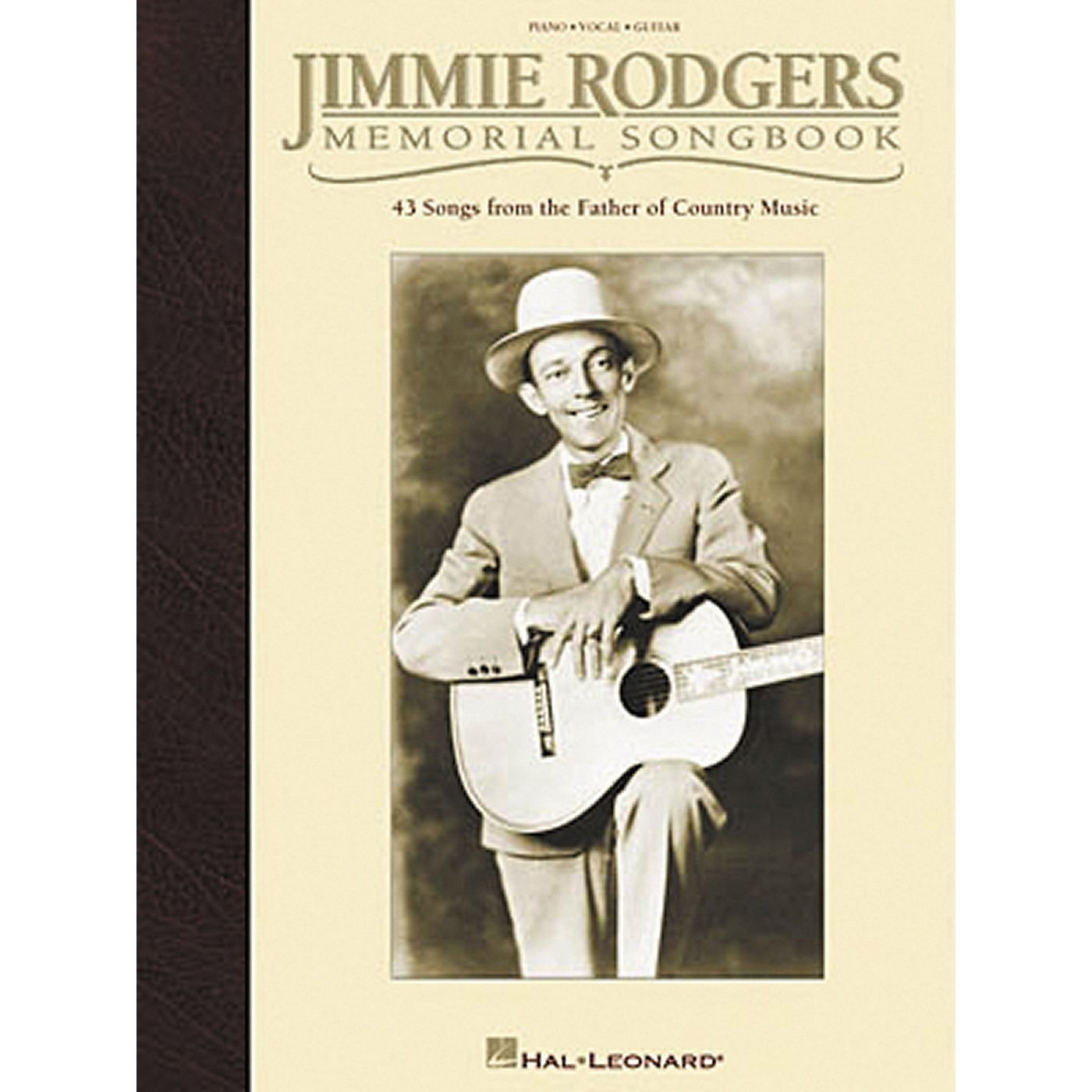 Hal Leonard Jimmie Rodgers Memorial Piano, Vocal, Guitar Songbook thumbnail