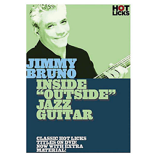 Music Sales Jimmy Bruno - Inside Outside Jazz Guitar Music Sales America Series DVD Performed by Jimmy Bruno thumbnail