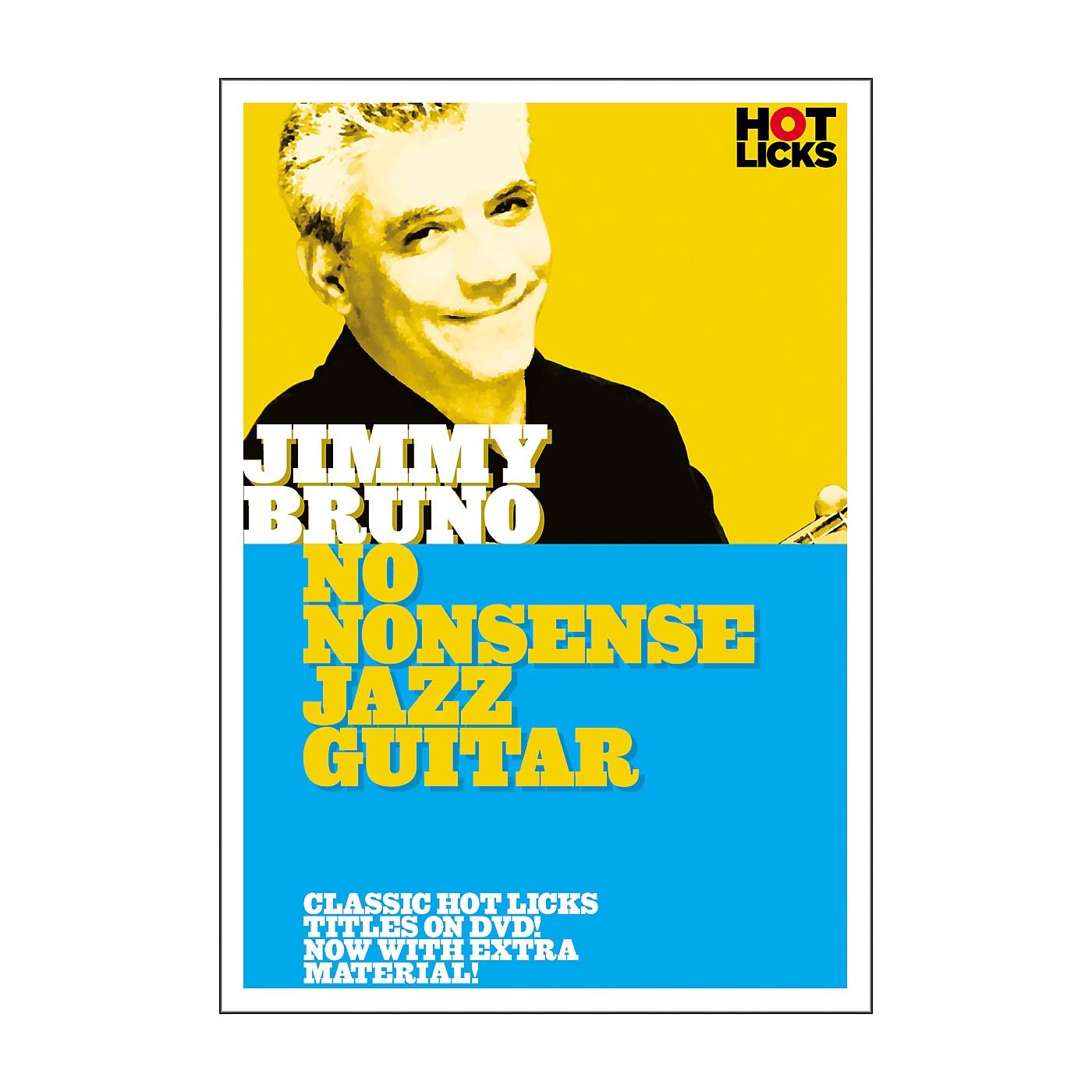 Hot Licks Jimmy Bruno: No Nonsense Jazz Guitar DVD thumbnail