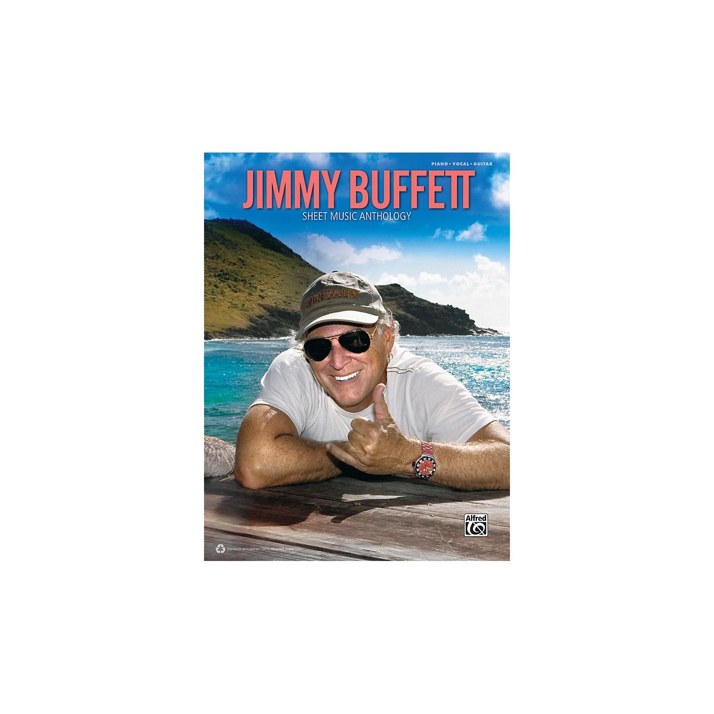 Alfred Jimmy Buffett - Sheet Music Anthology Book thumbnail
