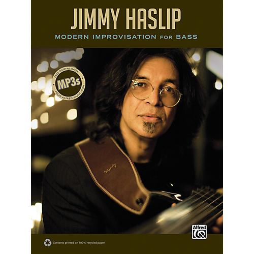Alfred Jimmy Haslip Modern Improvisation for Bass Book-thumbnail