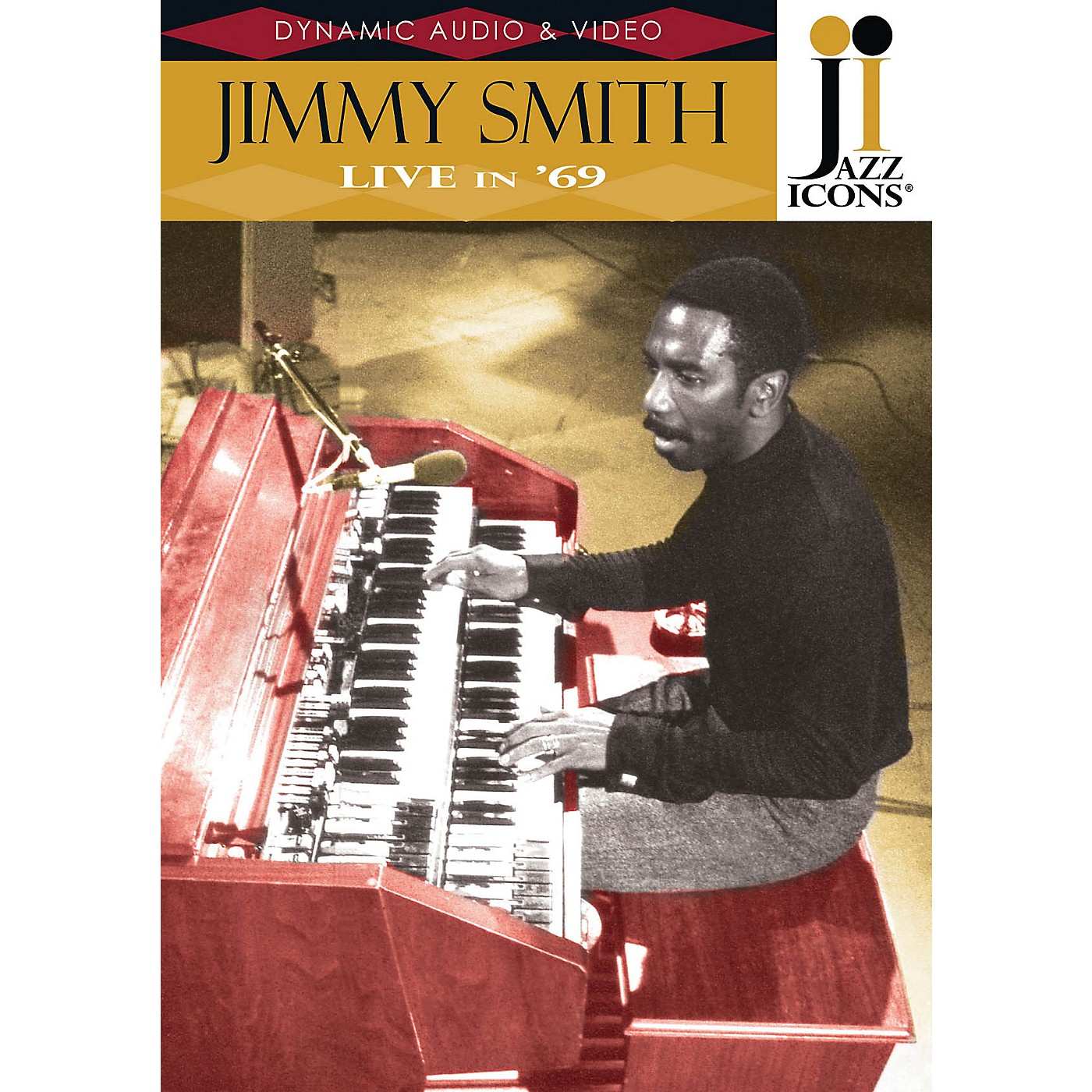 Jazz Icons Jimmy Smith - Live in '69 (Jazz Icons DVD) DVD Series DVD Performed by Jimmy Smith thumbnail