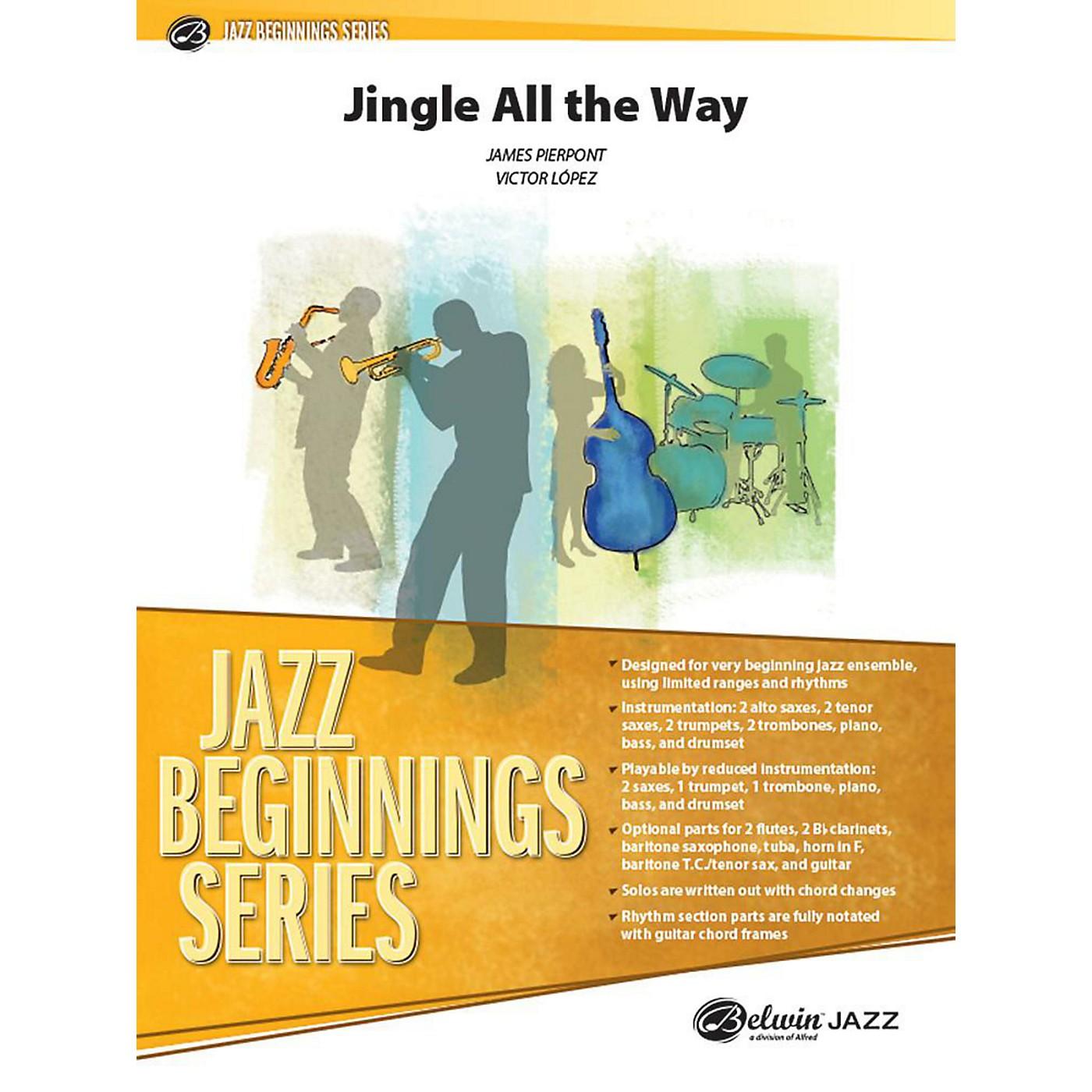 Alfred Jingle All the Way Jazz Band Grade 1 Set thumbnail
