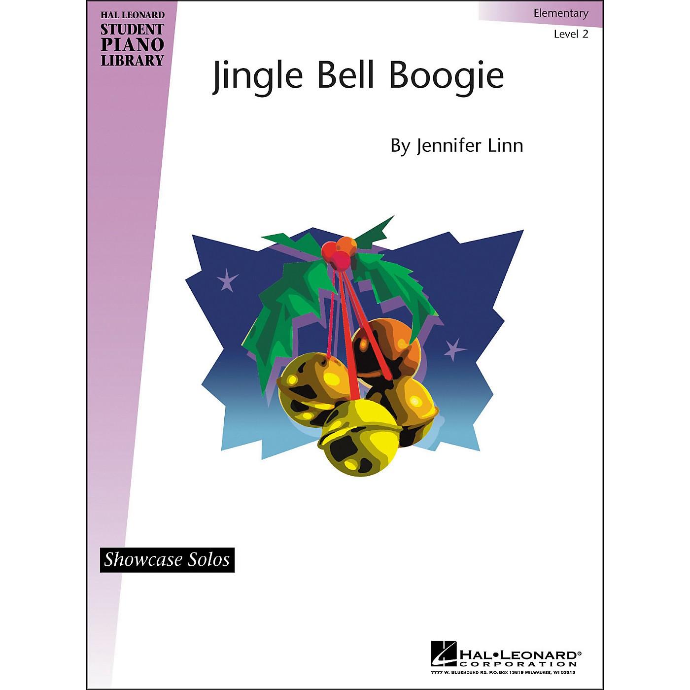 Hal Leonard Jingle Bell Boogie Elementary Level 2 Showcase Solos Hal Leonard Student Piano Library by Jennifer Linn thumbnail