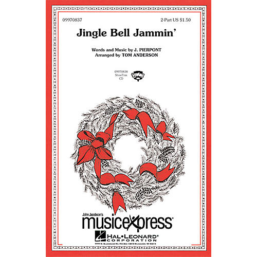 Hal Leonard Jingle Bell Jammin' 2-Part Arranged by Tom Anderson thumbnail
