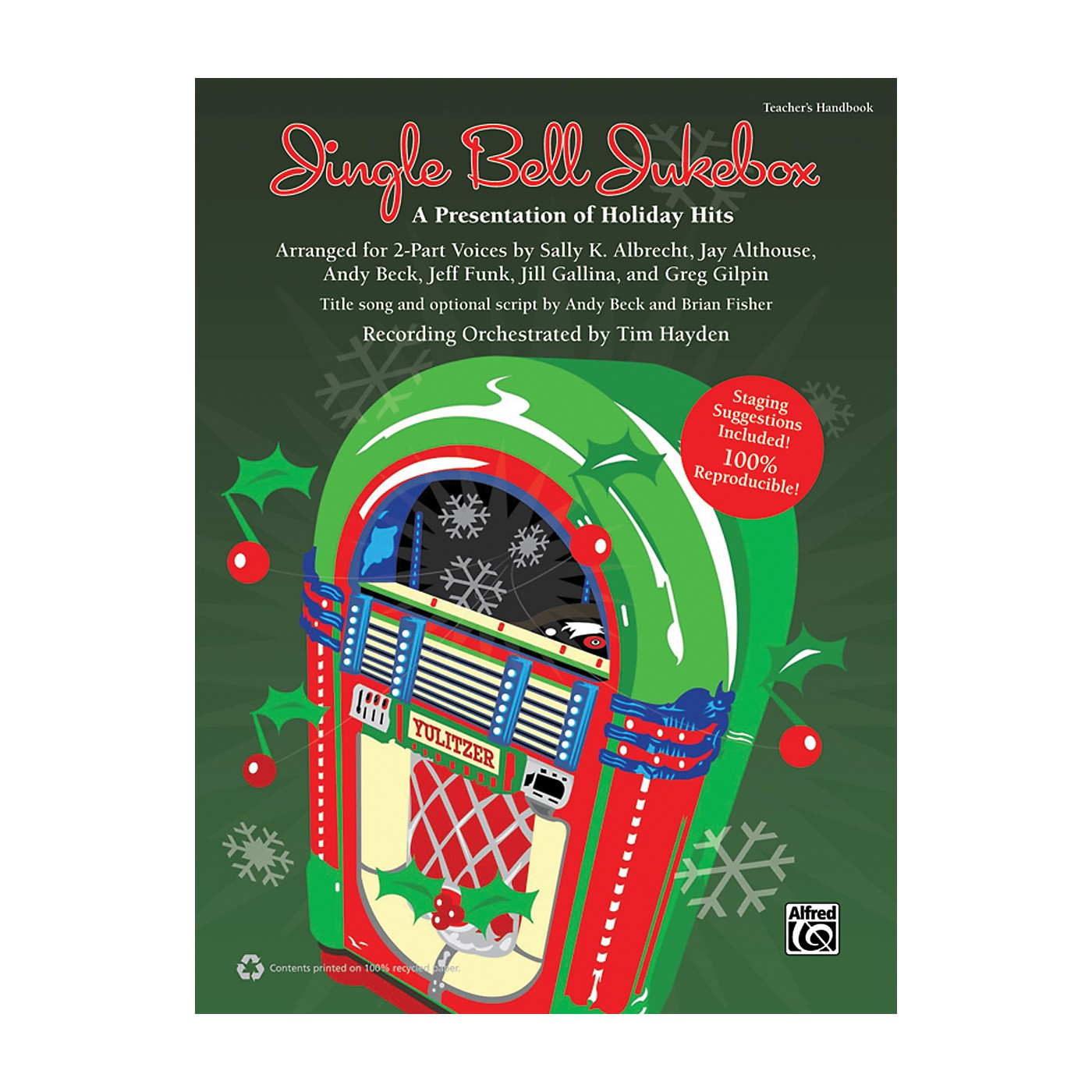 Alfred Jingle Bell Jukebox Book & CD thumbnail