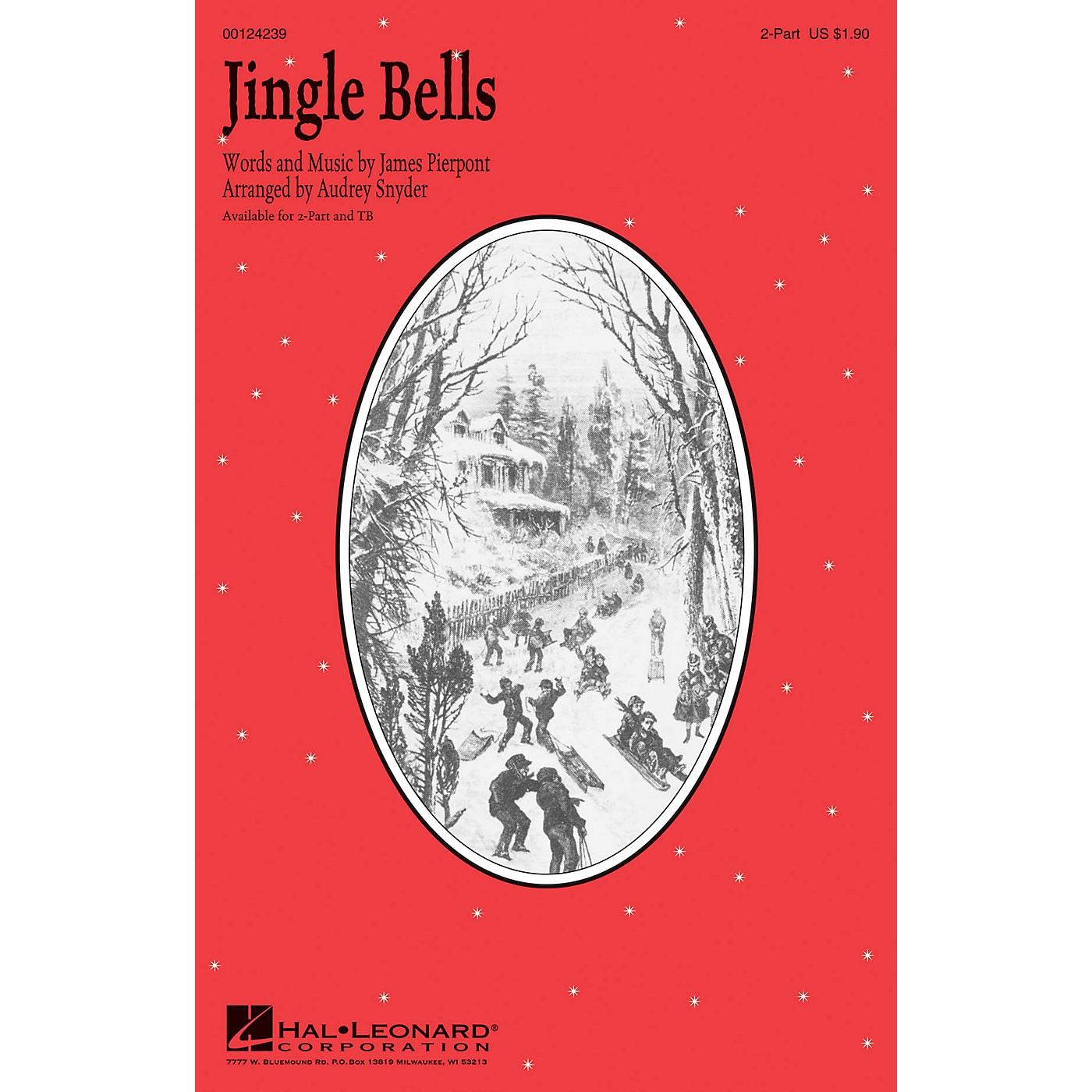 Hal Leonard Jingle Bells 2-Part arranged by Audrey Snyder thumbnail