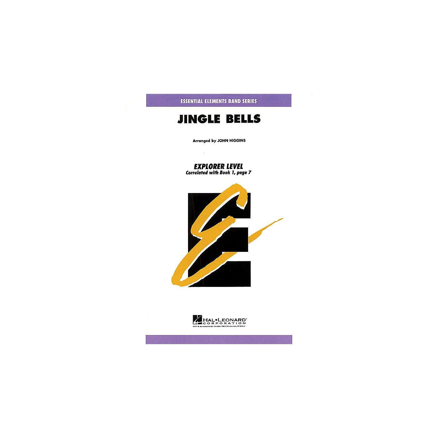 Hal Leonard Jingle Bells Concert Band Level 0.5 Arranged by John Higgins thumbnail