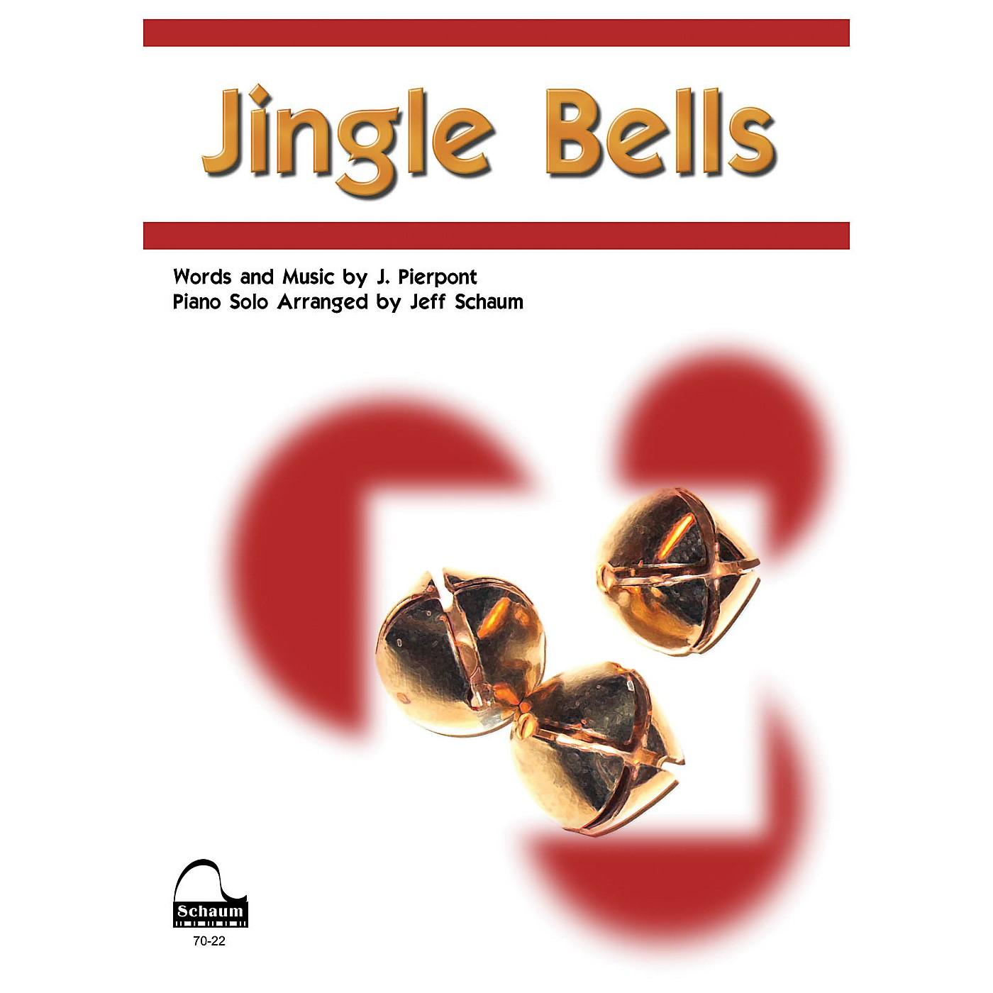 SCHAUM Jingle Bells Educational Piano Series Softcover thumbnail