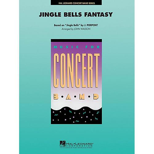 Hal Leonard Jingle Bells Fantasy Concert Band Level 4-5 Arranged by John Wasson thumbnail