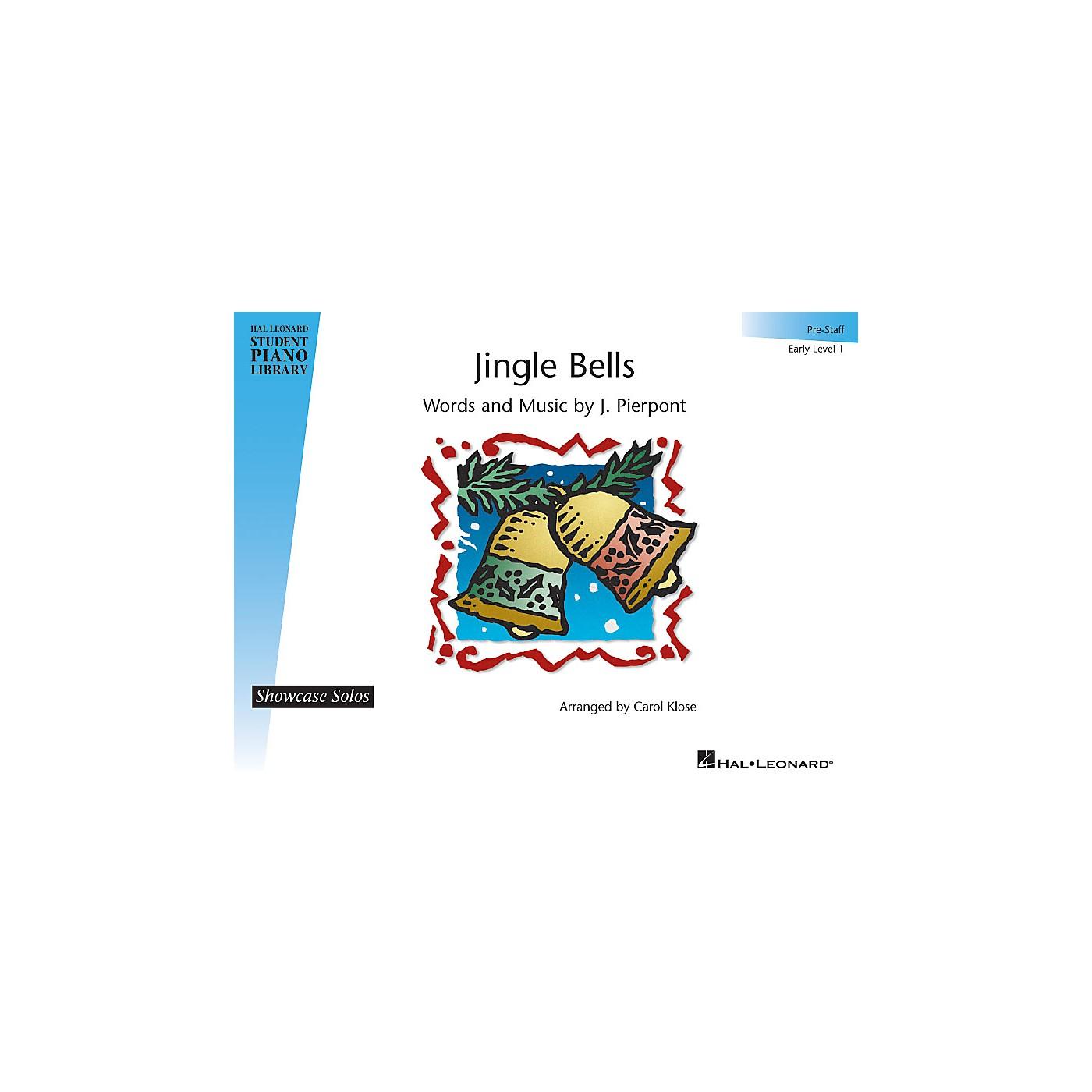 Hal Leonard Jingle Bells Piano Library Series by J. Pierpont (Level Early Elem (Pre-Staff)) thumbnail