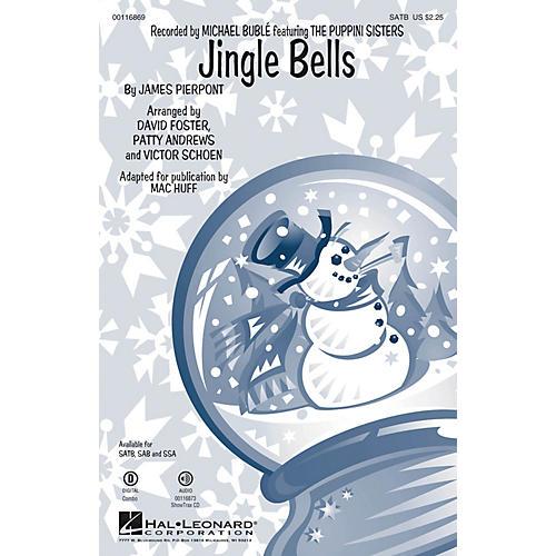 Hal Leonard Jingle Bells SAB by Michael Bublé Arranged by Mac Huff thumbnail