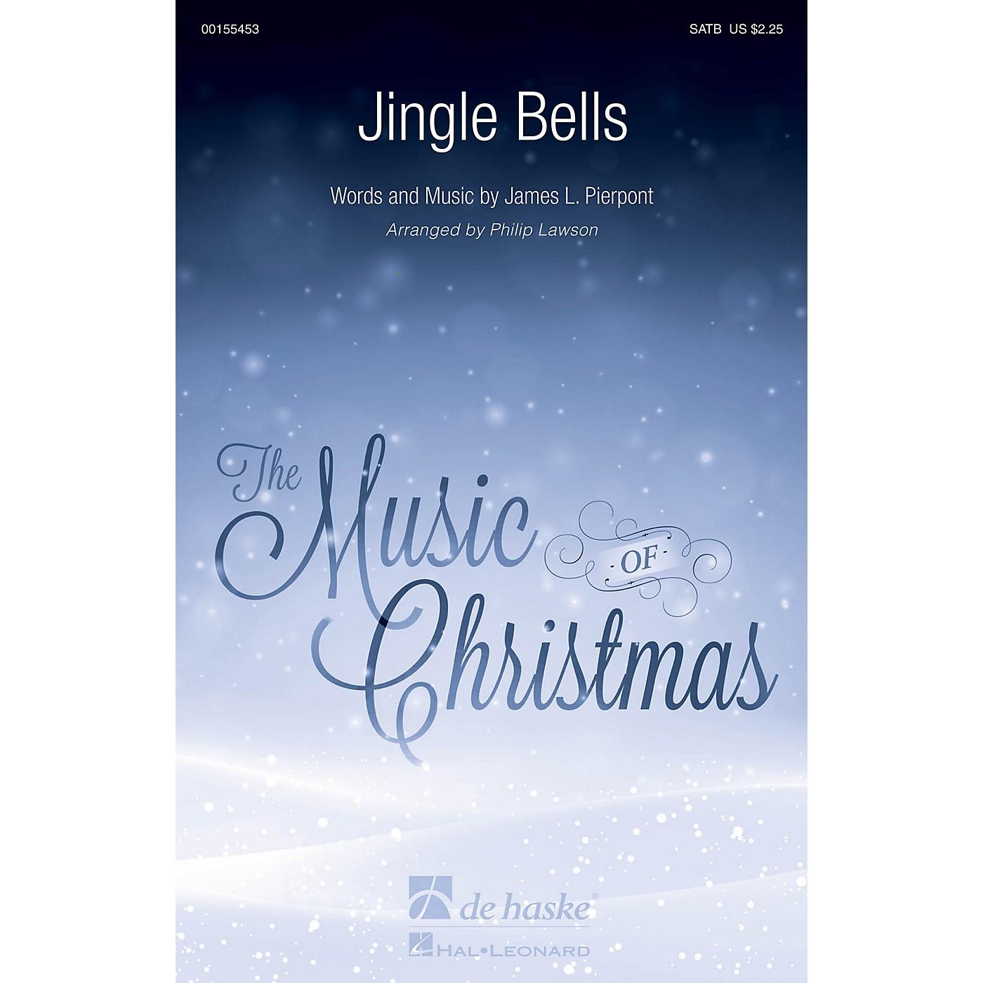 De Haske Music Jingle Bells SATB arranged by Philip Lawson thumbnail