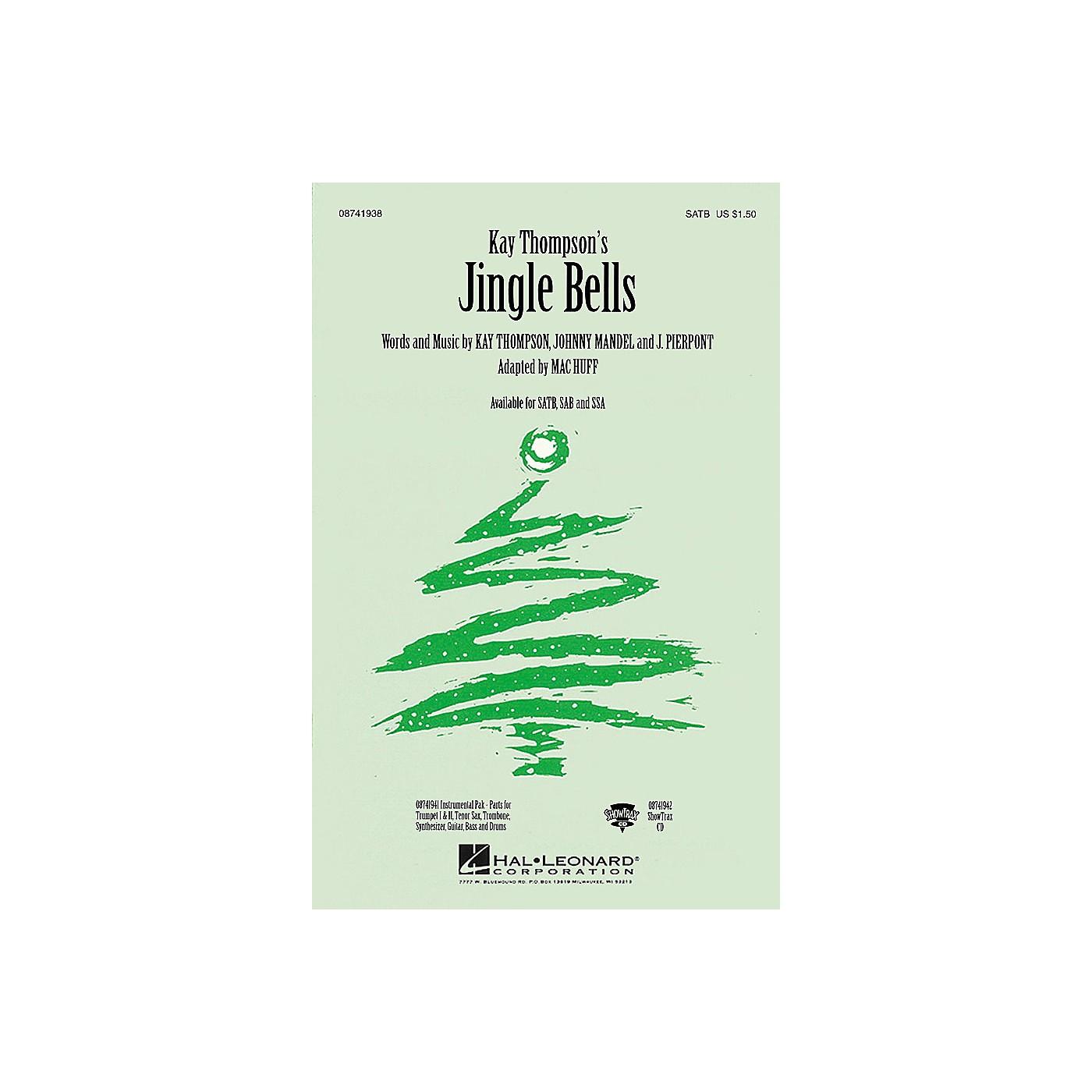 Hal Leonard Jingle Bells (ShowTrax CD) ShowTrax CD Arranged by Mac Huff thumbnail
