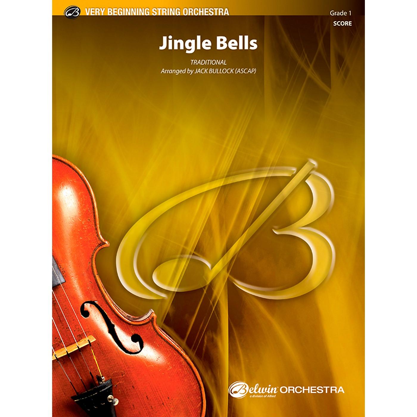 Alfred Jingle Bells String Orchestra Grade 1 Set thumbnail