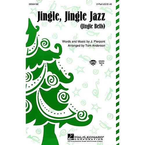 Hal Leonard Jingle Jingle Jazz 2-Part arranged by Tom Anderson thumbnail
