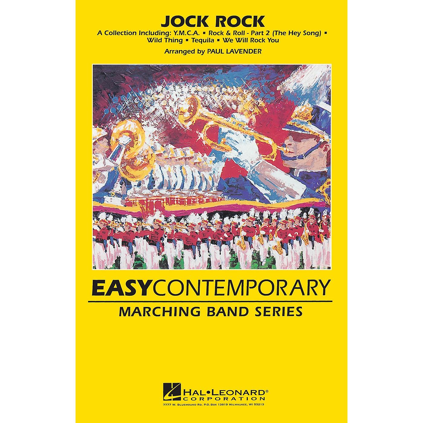 Hal Leonard Jock Rock Marching Band Level 2 Arranged by Paul Lavender thumbnail