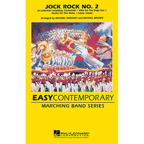 Hal Leonard Jock Rock No. 2 (Collection) Marching Band Level 2-3 Arranged by Michael Sweeney thumbnail