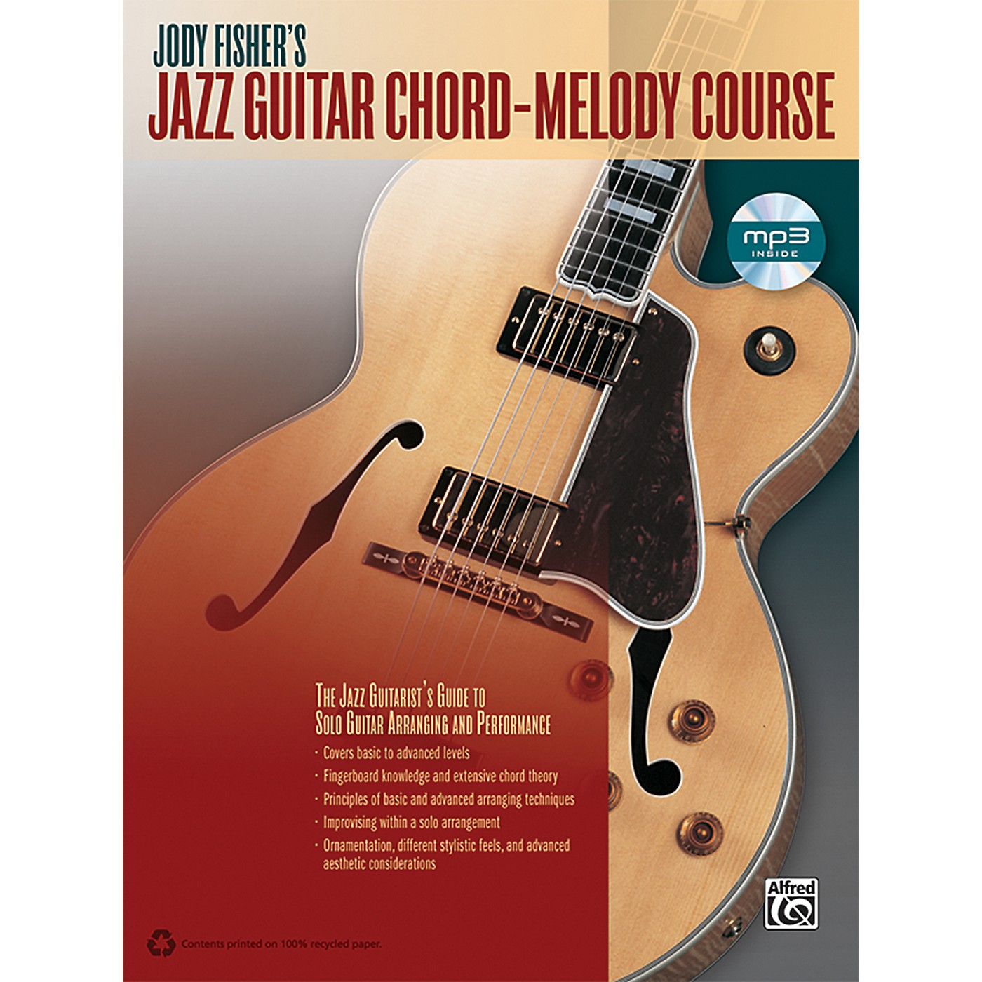 Alfred Jody Fisher's Jazz Guitar Chord-Melody Course (Book/CD) thumbnail