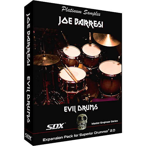 Platinum Samples Joe Barresi Evil Drums SDX for Superior Drummer 2.0 Sample Collection thumbnail