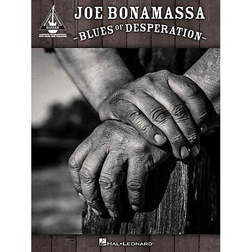 Hal Leonard Joe Bonamassa - Blues of Desperation Guitar Tab Songbook thumbnail