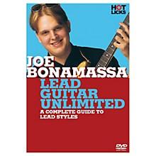 Hal Leonard Joe Bonamassa - Lead Guitar Unlimited DVD Hot Licks