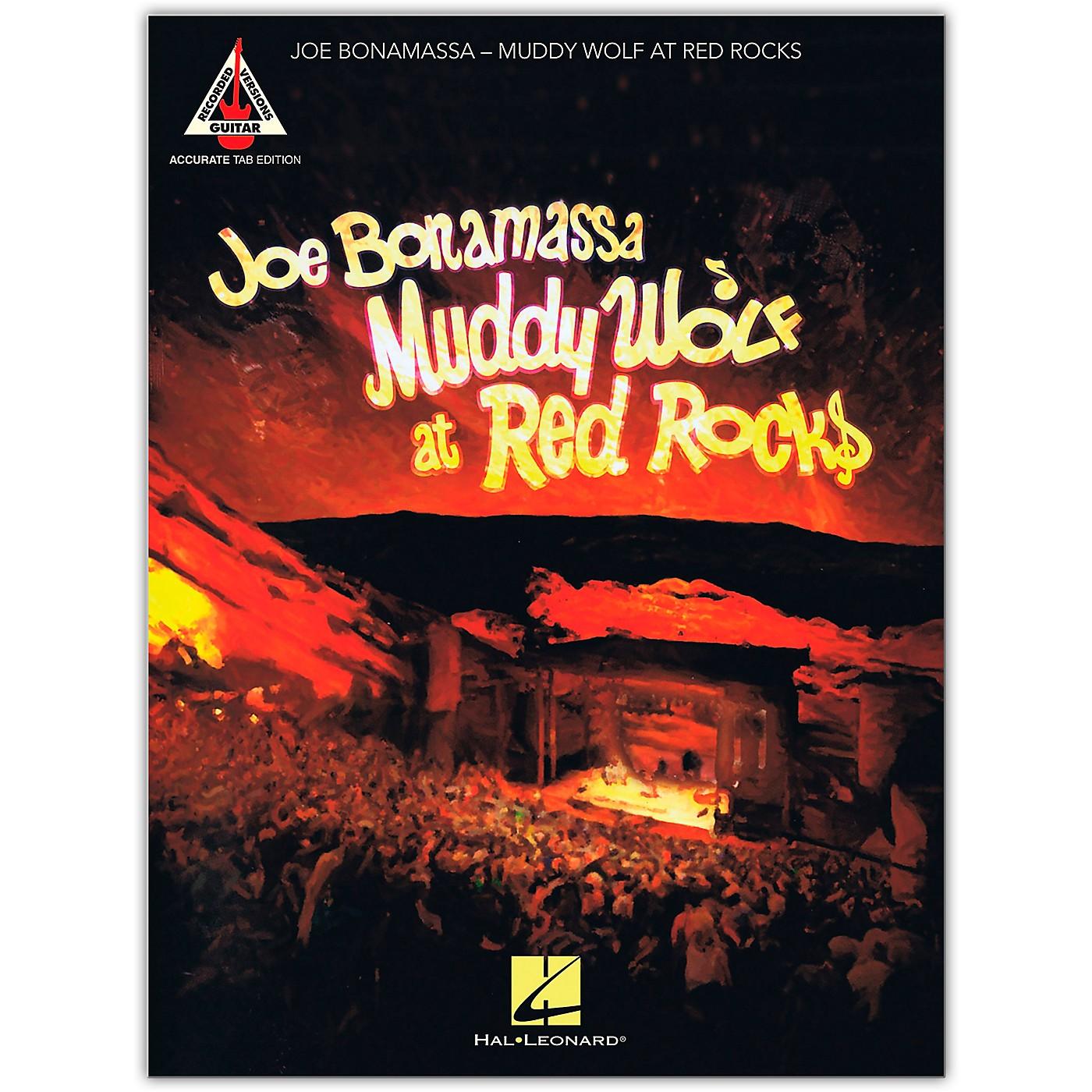 Hal Leonard Joe Bonamassa - Muddy Wolf at Red Rocks Tab Guitar Songbook thumbnail