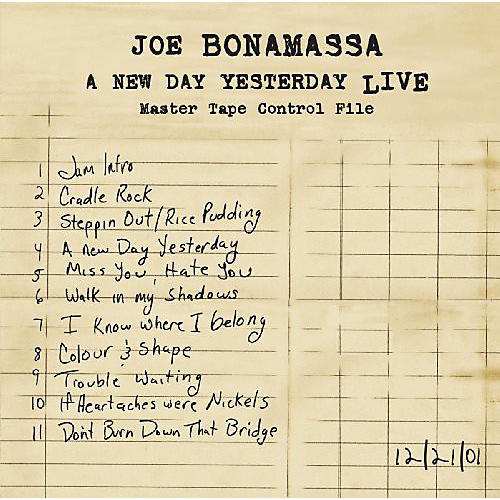 Alliance Joe Bonamassa - New Day Yesterday: Live thumbnail