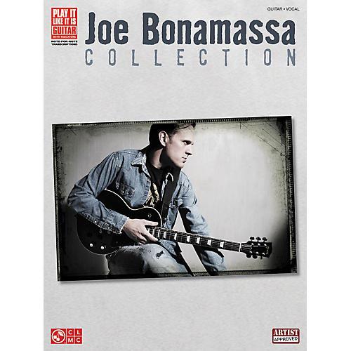 Hal Leonard Joe Bonamassa Collection Guitar Tab Songbook thumbnail