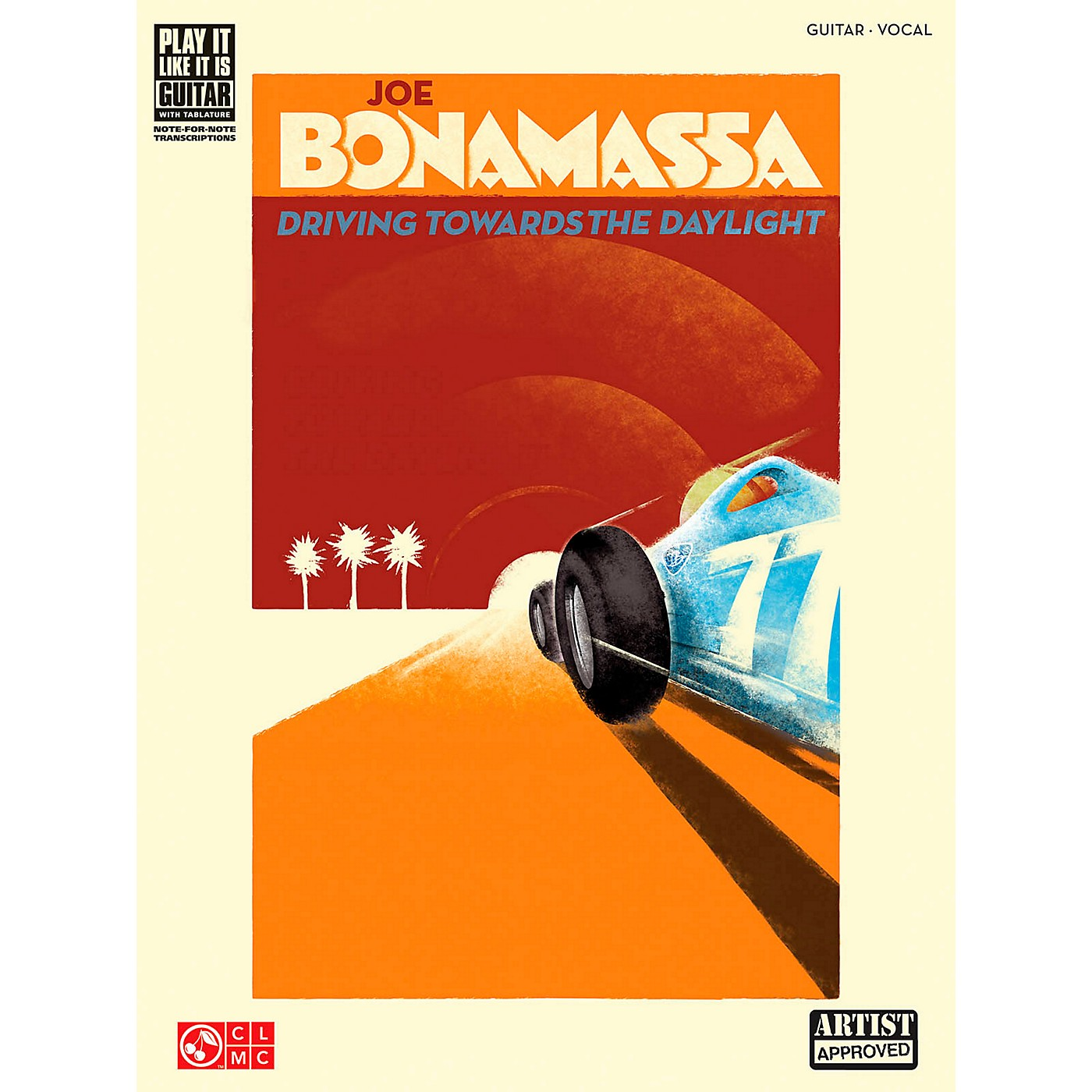 Cherry Lane Joe Bonamassa Driving Towards The Daylight Guitar Tab Songbook thumbnail