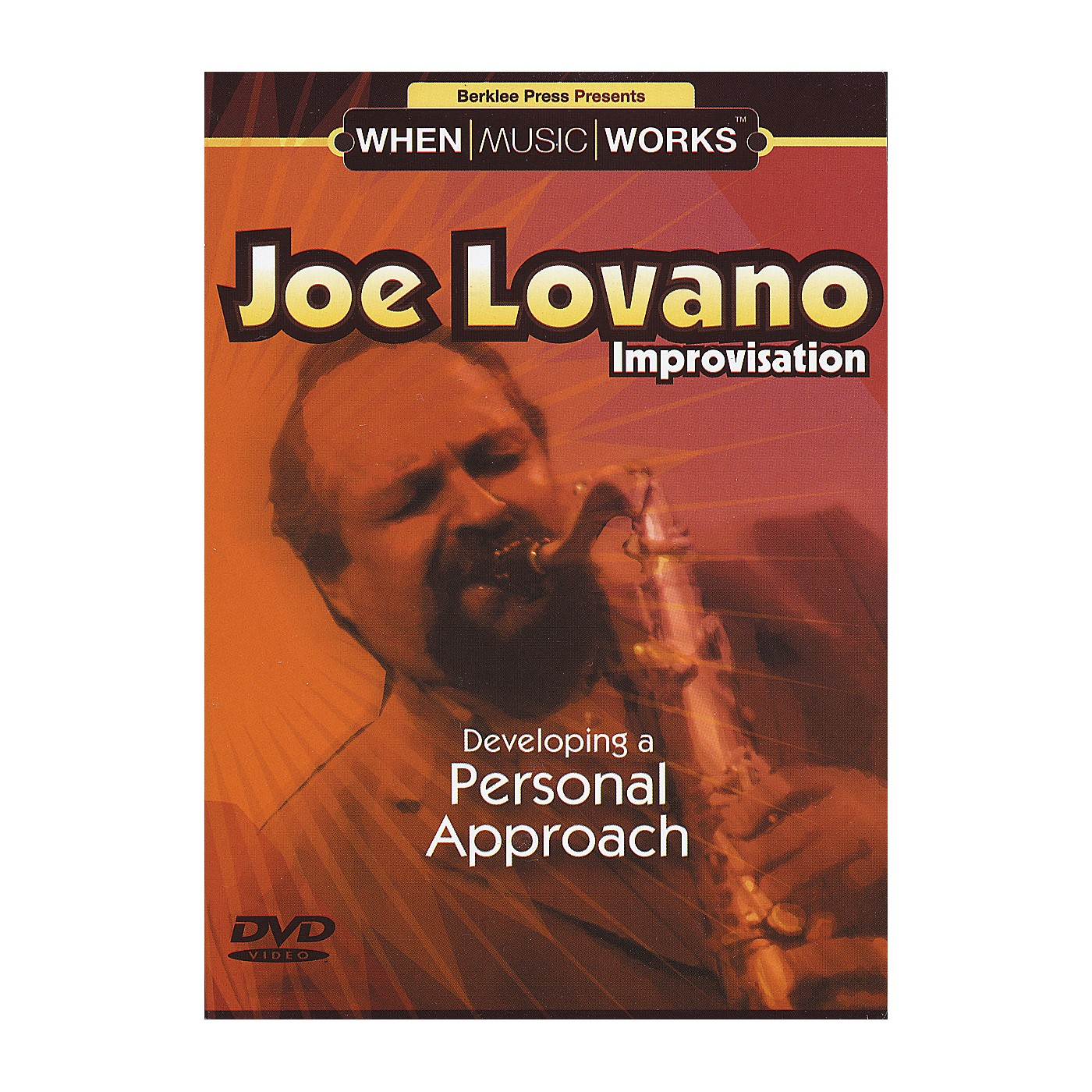 Berklee Press Joe Lovano Improvisation Saxophone (DVD) thumbnail