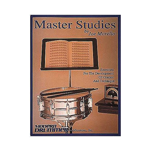 Hal Leonard Joe Morello - Master Studies Book thumbnail