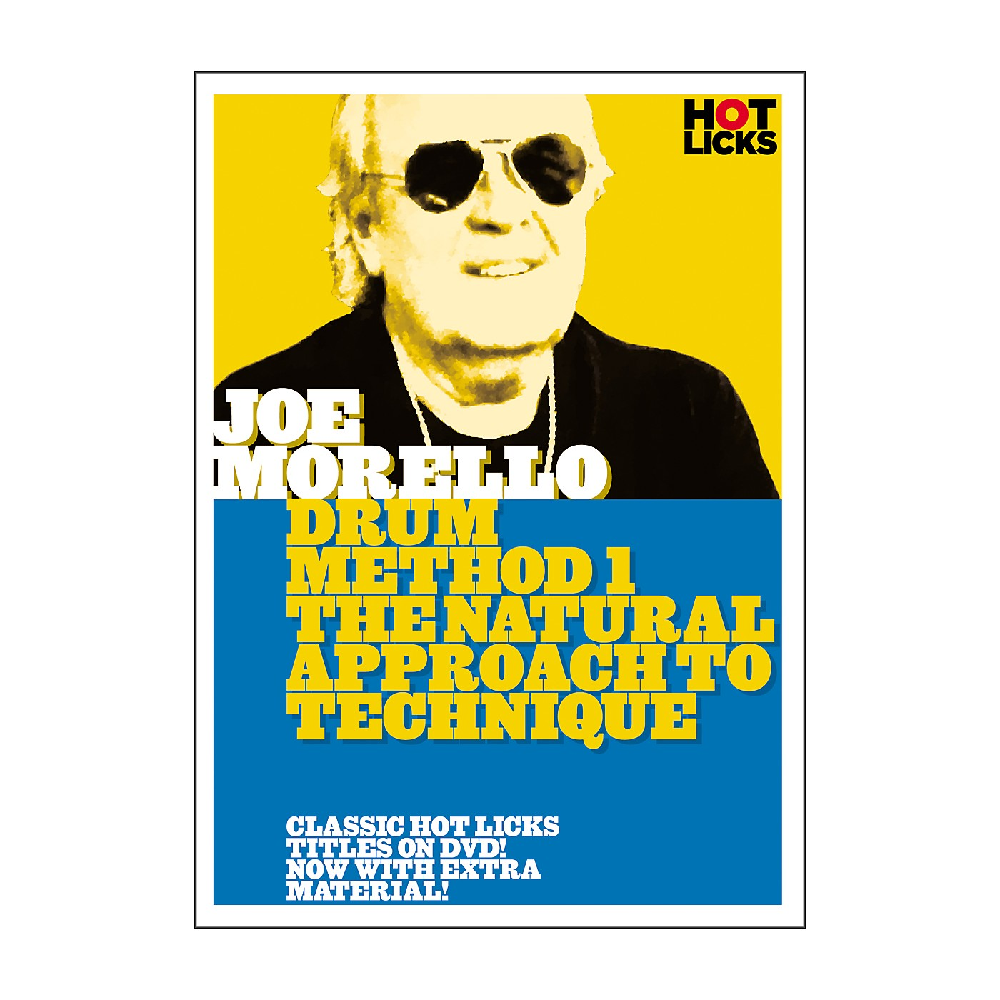 Hot Licks Joe Morello Drum Method 1: The Natural Approach to Technique (DVD) thumbnail