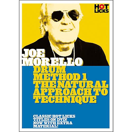 Hot Licks Joe Morello Drum Method 1: The Natural Approach to Technique (DVD)-thumbnail