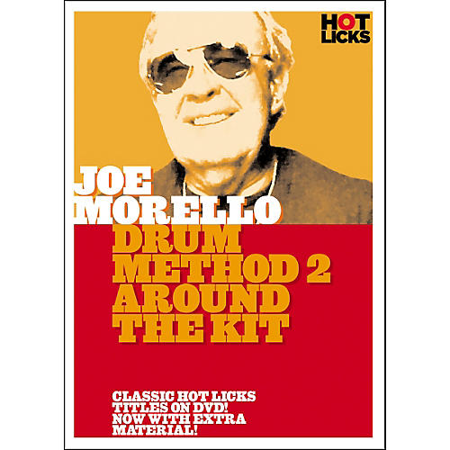 Hot Licks Joe Morello Drum Method 2: Around the Kit (DVD) thumbnail