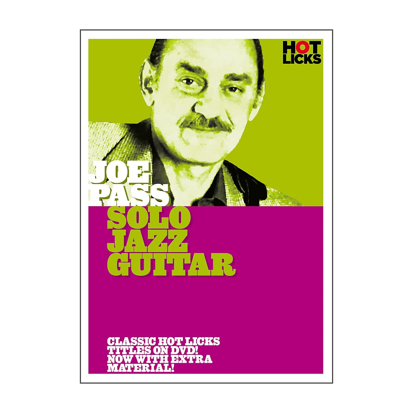 Hot Licks Joe Pass: Solo Jazz Guitar DVD thumbnail