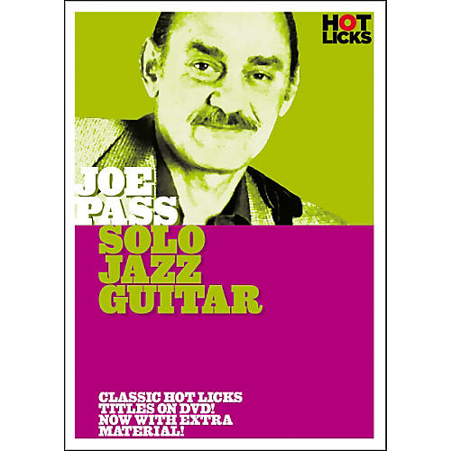 Hot Licks Joe Pass: Solo Jazz Guitar DVD thumbnail