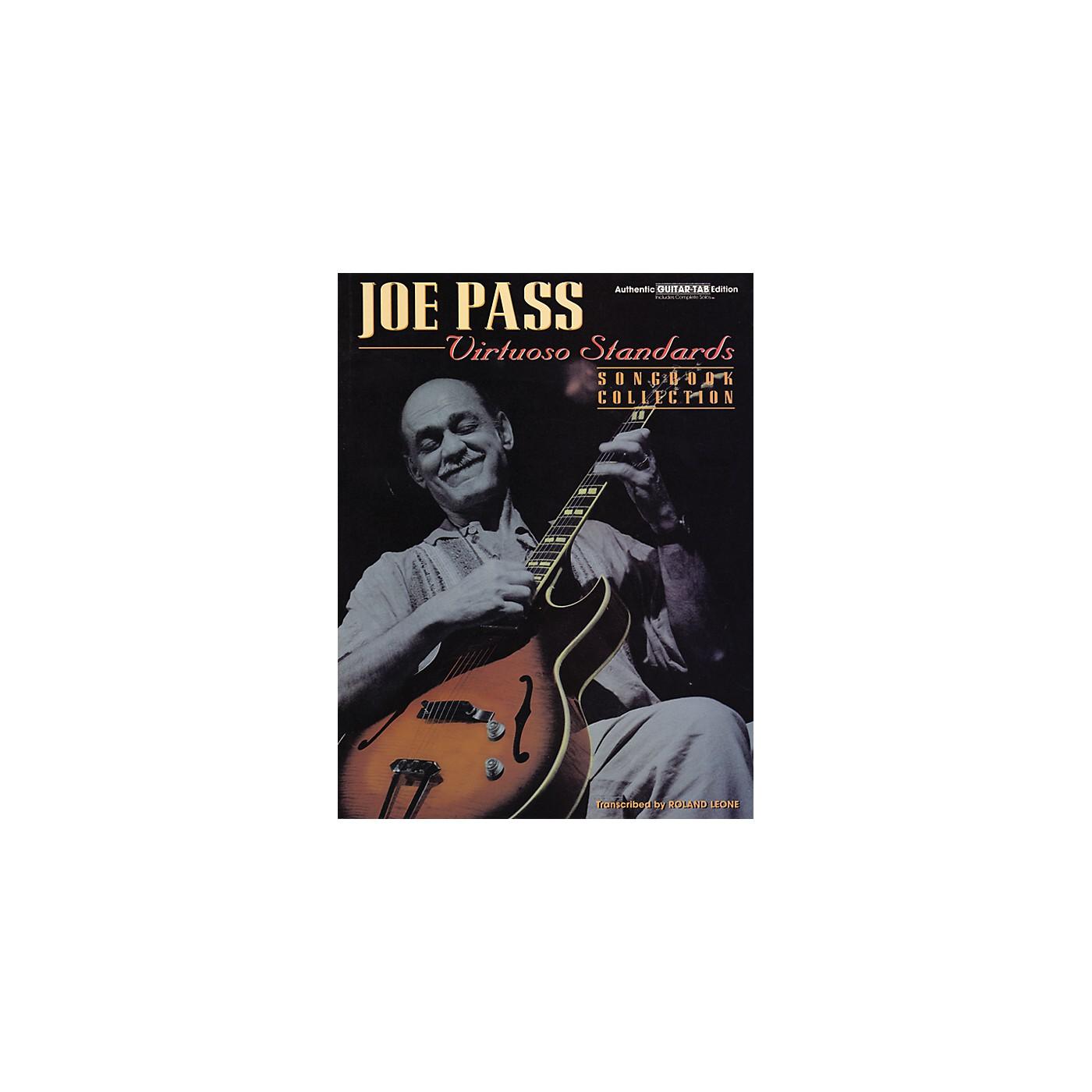 Alfred Joe Pass Virtuoso Standards Guitar Tab Book thumbnail