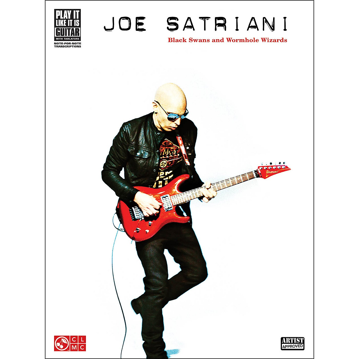 Hal Leonard Joe Satriani: Black Swans And Wormhole Wizards Guitar Tab Songbook thumbnail