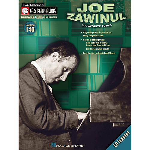 Hal Leonard Joe Zawinul (Jazz Play-Along Volume 140) Jazz Play Along Series Softcover with CD by Joe Zawinul thumbnail