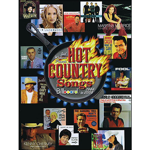 Hal Leonard Joel Whitburn Presents Hot Country Songs 1944 To 2008 Hard Cover Book-thumbnail