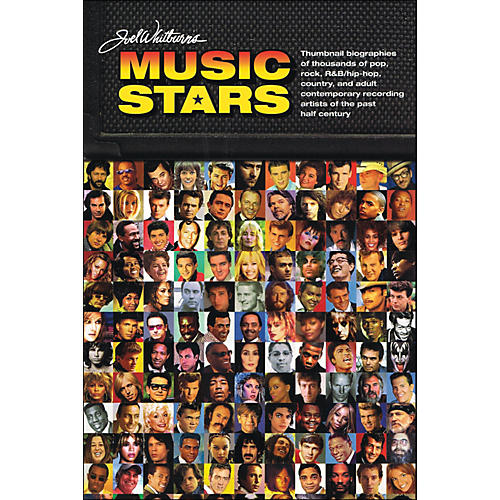 Hal Leonard Joel Whitburn Presents Music Stars - Brief Bios Of Every Recording Artist Whoever Charted thumbnail