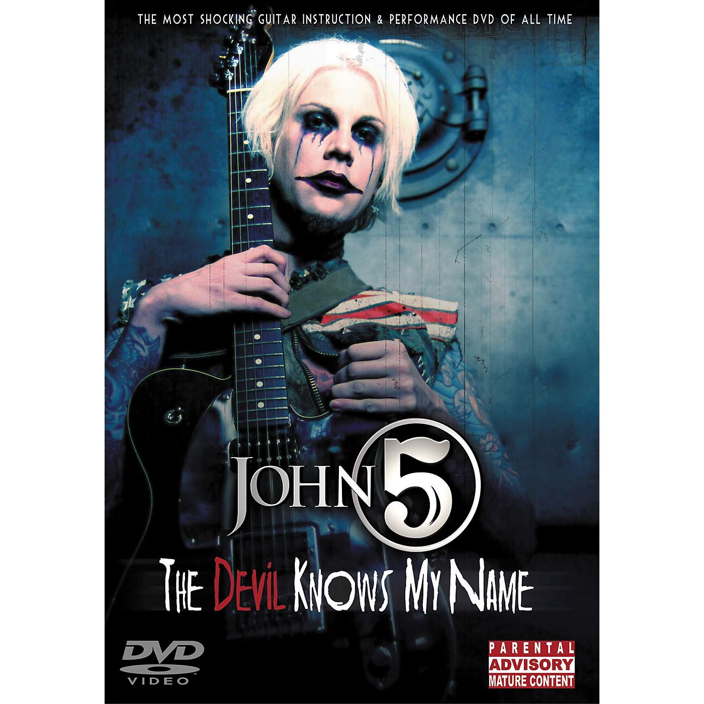 Hal Leonard John 5 - The Devil Knows My Name DVD thumbnail