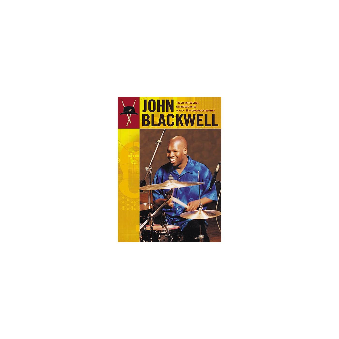 Hudson Music John Blackwell Technique, Grooving and Showmanship 2-DVD Set thumbnail