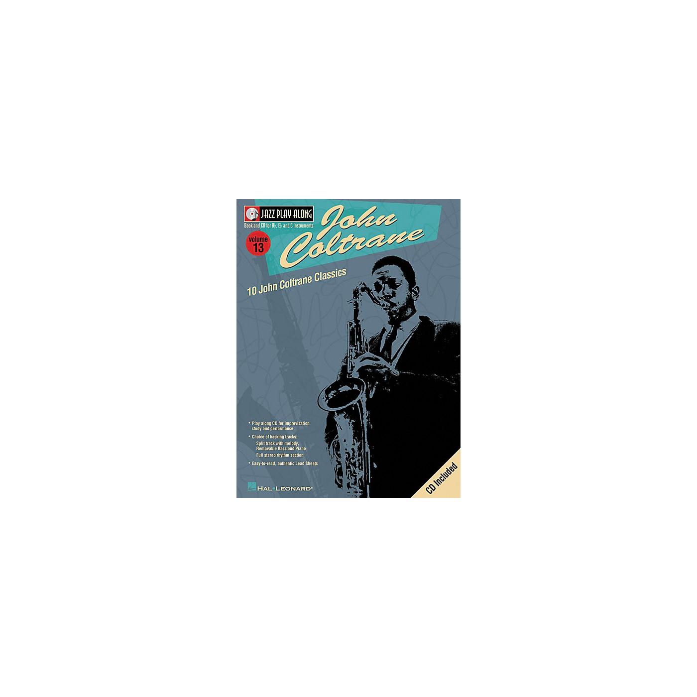 Hal Leonard John Coltrane - Jazz Play Along Volume 13 Book with CD thumbnail