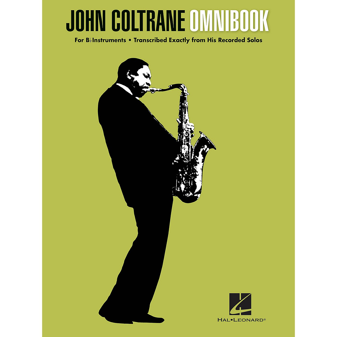 Hal Leonard John Coltrane - Omnibook (For B-flat Instruments) Jazz Transcriptions Series Softcover by John Coltrane thumbnail