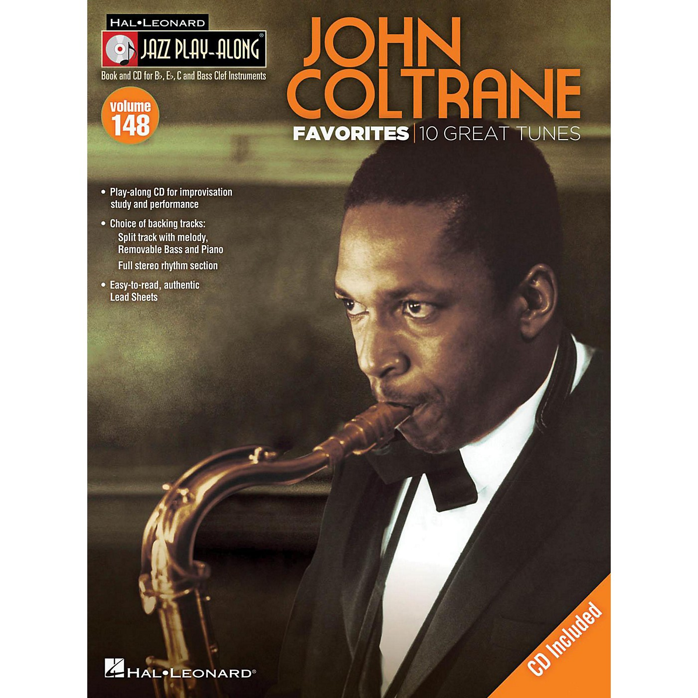 Hal Leonard John Coltrane Favorites - Jazz Play-Along Volume 148 Book/CD thumbnail