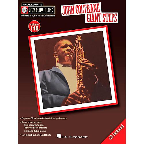 Hal Leonard John Coltrane Giant Steps - Jazz Play-Along Volume 149 Book/CD thumbnail