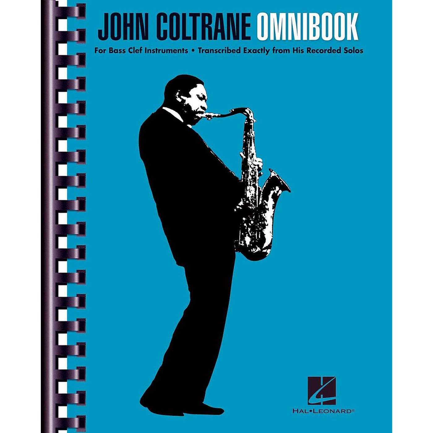 Hal Leonard John Coltrane Omnibook For Bass Clef Instruments thumbnail