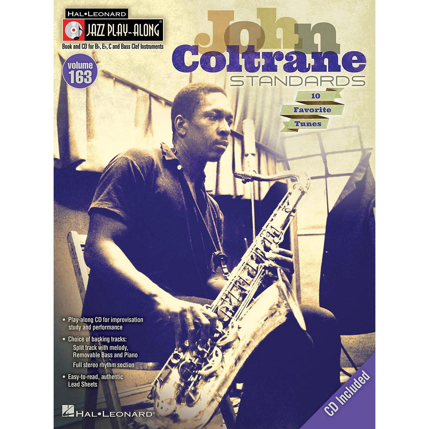 Hal Leonard John Coltrane Standards - Jazz Play-Along Volume 163 Book/CD thumbnail